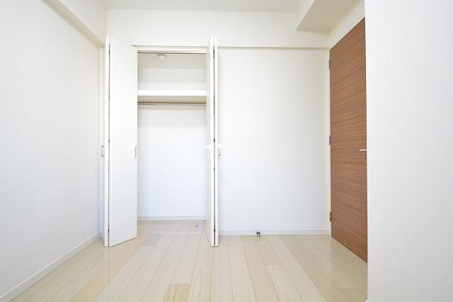 大崎南パークハウス 約5.0畳の洋室のクローゼット