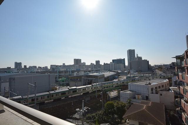 大崎南パークハウス 眺めがいいです