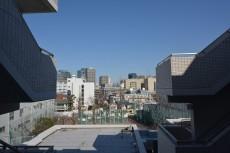 大崎南パークハウス 玄関前からの眺望