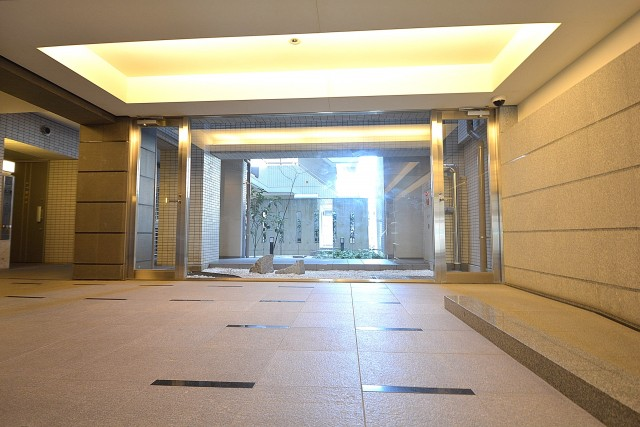 大崎南パークハウス エントランスホール