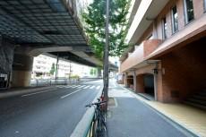 五反田ダイヤモンドマンション 前面道路