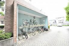 パークハイム用賀中町 駐輪場