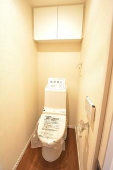 浜町グランドハイツ ウォシュレット付きトイレ