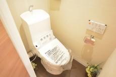光建ハイムブリリアンス日本橋浜町四番館 ウォシュレット付きトイレ