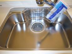 シンクの水栓は浄水器内蔵