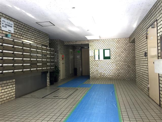 クレール三田 エントランスホール