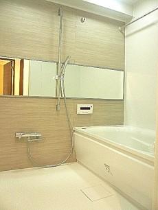 藤和青葉台コープ 浴室換気乾燥機付きバスルーム。