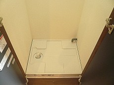 藤和青葉台コープ 洗濯機置き場です。