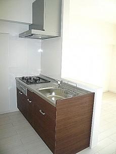 柿の木坂パレス システムキッチンです。