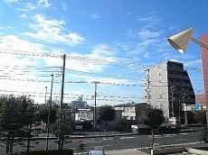柿の木坂パレス 2階からの眺望です。