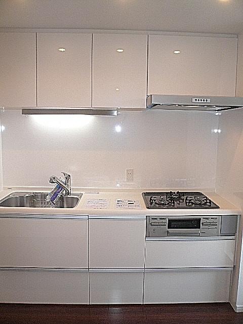 クリナップ製システムキッチン。