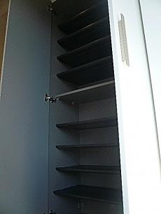 フローレンスパレス多摩川 トールサイズの玄関収納。