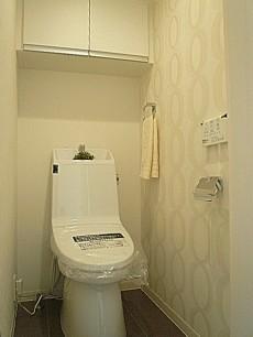 フローレンスパレス多摩川 ウォシュレット付トイレです。