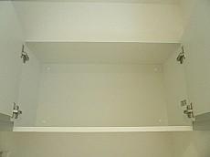 フローレンスパレス多摩川 ホワイトな吊戸棚です。