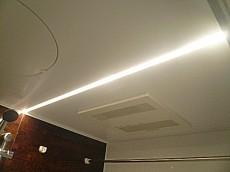 フローレンスパレス多摩川 LEDフラットライン照明。