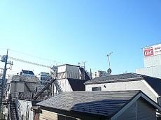 フローレンスパレス多摩川 3階からの眺望です。