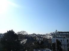 4階からの眺望です。