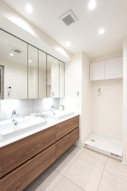 ビラハイツ北の丸 洗面室