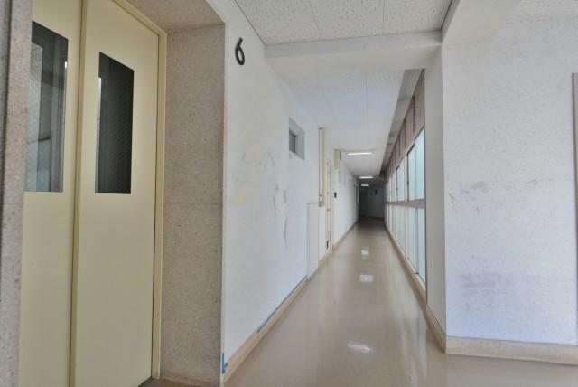 南平台アジアマンション 内廊下