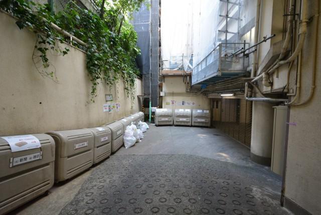 南平台アジアマンション605 ゴミ置場
