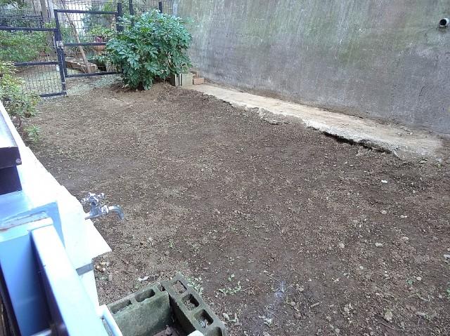 ガーデニングや家庭菜園が楽しめる専用庭
