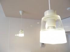 シャルマンコーポ第2芦花公園 キッチン上の照明