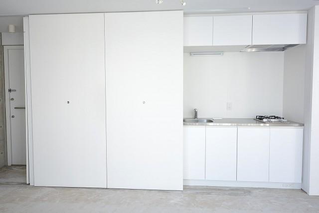 キッチンと洗濯機置場