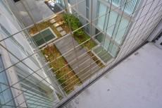 渡り廊下からの眺望