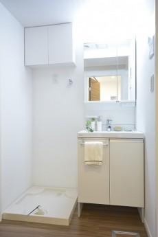 セイワパラシオン笹塚 洗面化粧台と洗濯機置場