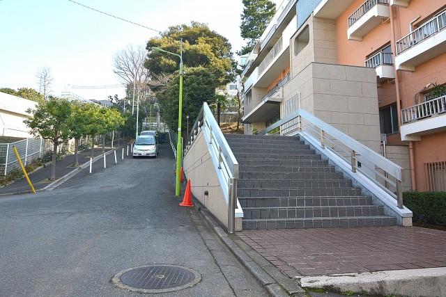 瀬田ハイツ 前面道路