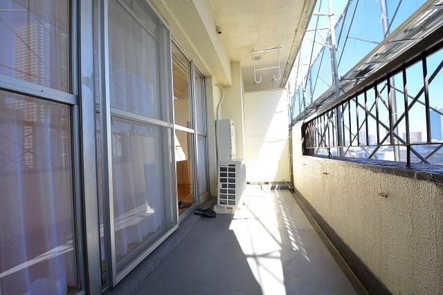月島四丁目住宅 バルコニー