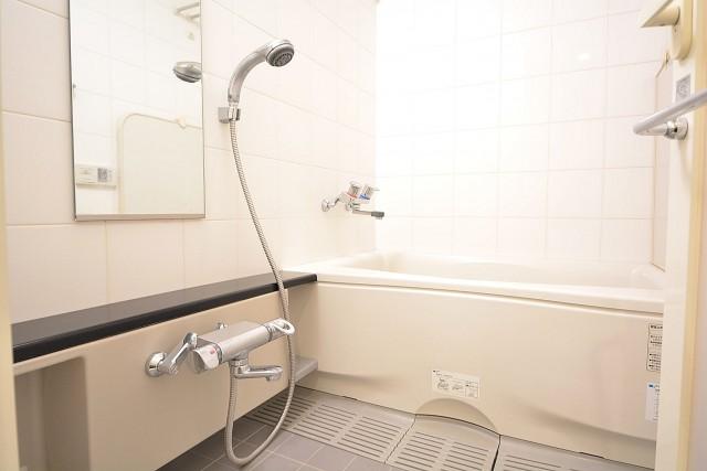 レジオン白金クロス シックな雰囲気のバスルーム