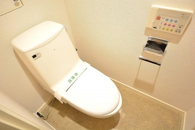 レジオン白金クロス ウォシュレット付きトイレ