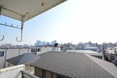 ライオンズマンション中野第2  バルコニー