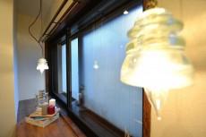 上馬ハイデンス カウンター上部の照明