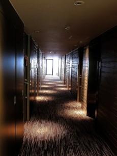 グラントレゾール広尾 シックな内廊下