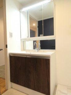 自由ヶ丘センチュリーマンション 洗面化粧台