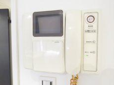 自由ヶ丘センチュリーマンション TVモニター付きインターホン