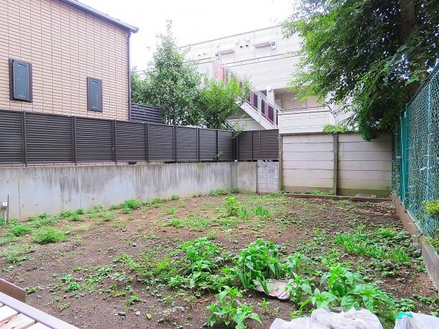 自由ヶ丘センチュリーマンション 専用庭