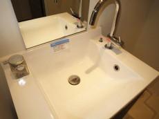 機能的な洗面化粧台