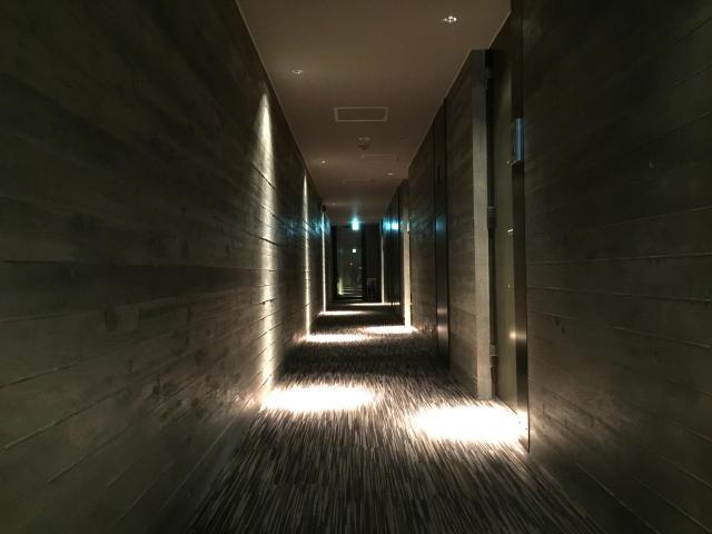 グラントレゾール広尾 内廊下