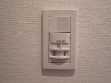 ビッグ武蔵野池袋 玄関照明は人感センサー付602