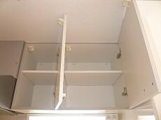 システムキッチン 吊戸棚。