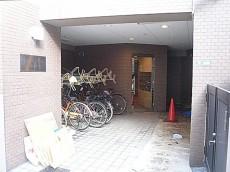 エクセルシオール麻布 エントランス入口。