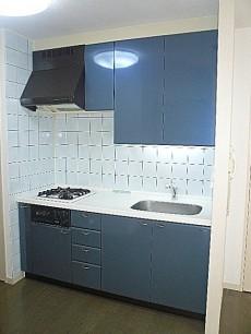 エクセルシオール麻布 システムキッチンです。