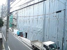 六本木東豊エステート 2階からの眺望です。