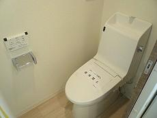駒沢コーポラス ウォシュレット付トイレ