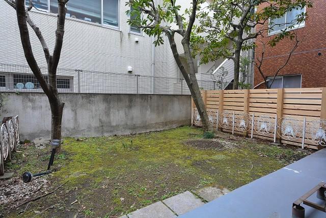 トーカンマンション元代々木 テラスと専用庭
