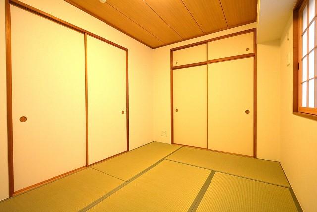 クレストフォルム蒲田 6.0帖の和室