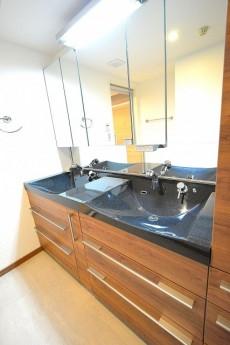 サニタリールーム 洗面台